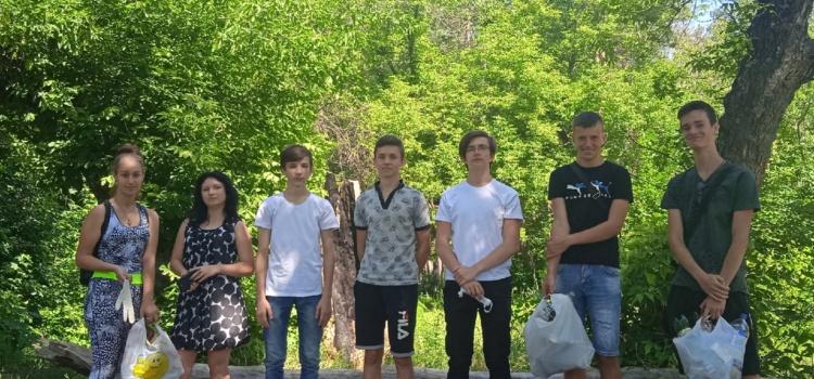 Акция «Молодёжь за чистый город»